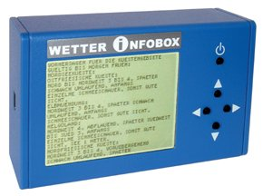 WIBD - Mini weather receiver + Barograph